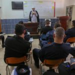 العتبة العلوية المقدسة تواصل برنامجها التثقيفي في أكاديمية الشرطة