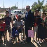 مؤسسة الاخاء الخيرية في كربلاء ترعى ايتام اليمن وسامراء وتنفق مبالغ مالية لمساعدتهم