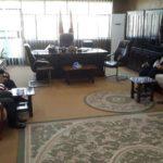 ممثّل مكتب المرجع الشيرازي يزور كليّة العلوم السياسية بجامعة الكوفة