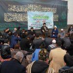 هيئة دار القرآن الكريم من العراق تزور بيت المرجع الشيرازي في قم المقدسة