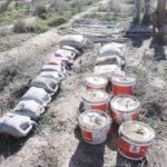 العراق: العثور على حزام ناسف و45 عبوة ناسفة بعملية امنية استباقية جنوبي الفلوجة