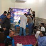 مؤسسة أهل البيت في البصرة تنظم حملة ختان للاطفال بمناسبة ميلاد الاقمار المحمدية
