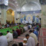 رواق الامام الهادي عليه السلام في الصحن العسكري المطهر يستهل منهاج الختمة القرآنية السنوية