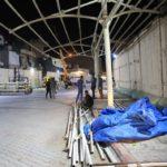 انتهاء المرحلة الثانية من مشروع مظلات الزائرين في العتبة العسكرية المقدسة