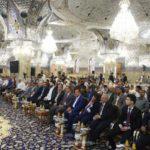 انعقاد الجلسة الخاصة بمسابقة مسلم بن عقيل عليه السلام للإبداع الفكري الثامنة في مسجد الكوفة المعظم