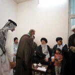 قافلة موكب الإمام الرضا العراقية تزور بيت المرجعية الشيرازية بقم المقدّسة