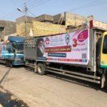 الشروع بتوزيع جوائز الفائزين بالمرحلة الثالثة من مشروع بيت المودة لتزويج شباب العراق (صور)