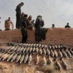 ضبط كدس عتاد من مخلفات داعش الارهابي غربي بغداد