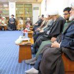 انعقاد المجلس الاسبوعي لمكتب المرجع الشيرازي في مدينة النجف الأشرف