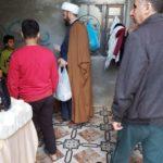 تقديم إعانات للأيتام من قبل مؤسسة أهل البيت في البصرة