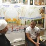 شاب سويدي يعتنق الدين الاسلامي في حسينية الإمام الحسن المجتبى عليه السلام