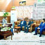 وفد من مؤسسة مصباح الحسين عليه السلام يلتقي مدير مديرية بلدية كربلاء المقدسة